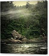 Seclusion On The Trinity Canvas Print