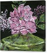Second Hand Rose Canvas Print