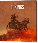 Second Kings Books Of The Bible Series Old Testament Minimal Poster Art Number 12 Canvas Print