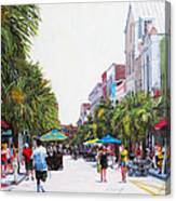 Second Sunday On King St. Canvas Print