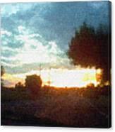 Second Sunset Canvas Print