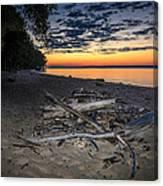Seconds Before Potomac Sunrise Canvas Print