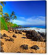 Secret Beach Maui Canvas Print