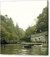Secret Boathouse Canvas Print