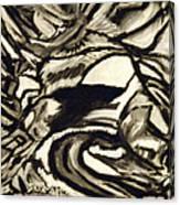 Secret Cave Canvas Print