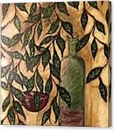 Secret In The Garden Canvas Print