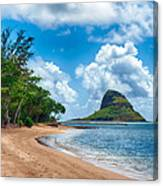 Secret Island Beach And Chinaman's Hat Canvas Print
