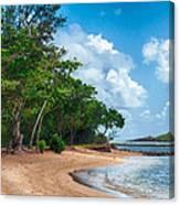 Secret Island Beach Canvas Print