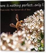 Secret Life Of Bees Canvas Print