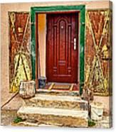Secure Entrance Canvas Print