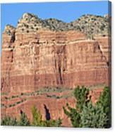 Sedona  Arizona  Mountain  Two Canvas Print