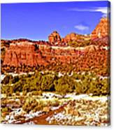 Sedona Arizona Secret Mountain Wilderness Canvas Print