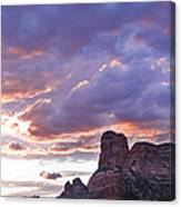 Sedona Arizona Sunset Canvas Print