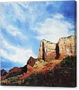 Sedona Mountains Canvas Print