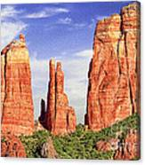 Sedona Red Rock Cathedral Rock State Park Canvas Print