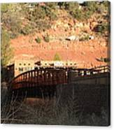 Sedona Steel Bridge Canvas Print