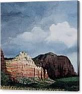 Sedona Storm Canvas Print