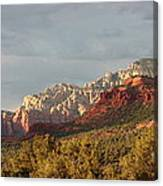 Sedona Sunshine Panorama Canvas Print