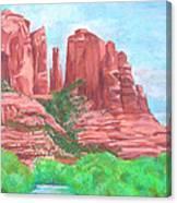 Sedonas Canvas Print