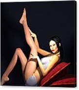 Seductress... Canvas Print