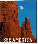 See America - Coconino National Forest Canvas Print