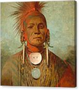 See Non Ty A An Iowa Medicine Man Canvas Print