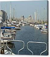 See Port Canvas Print