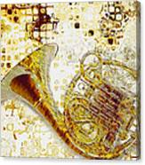 See The Sound Canvas Print