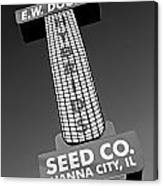 Seed Company Sign 1.1 Canvas Print