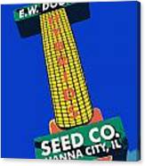 Seed Company Sign 1.3 Canvas Print