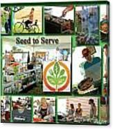 Seed To Serve Rw2k14 Canvas Print
