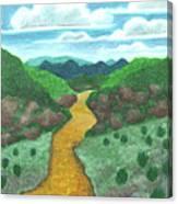 Seeded Waterway Canvas Print