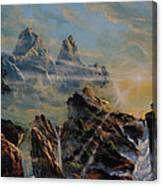 Seeing The Face Of God Canvas Print