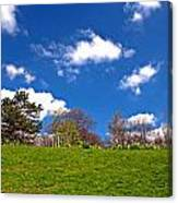 Sefton Park Liverpool In Spring Time Canvas Print