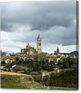Segovia Surrounded Canvas Print