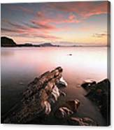 Seil Island Sunset Canvas Print
