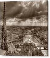 Seine From Notre Dame Canvas Print