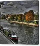 Seine Study Number One Canvas Print
