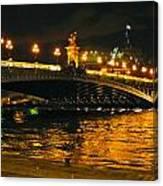 Seine's Current Canvas Print