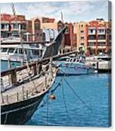 Sekalla Marina Egypt Canvas Print