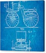 Selden Road Engine Patent Art 1895 Blueprint Canvas Print