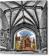 selective colors Princeton University Canvas Print