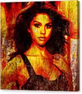 Selena Gomez 3 Canvas Print