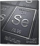 Selenium Chemical Element Canvas Print
