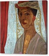 Self Portrait, 1906-7 Canvas Print