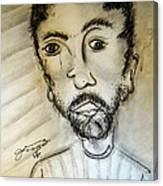 Self-portrait #2 Canvas Print