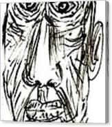 Self-portrait As An Old Man Canvas Print