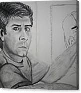 Self Portrait By Stacy C Bottoms Canvas Print