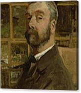 Self Portrait, C.1884 Canvas Print
