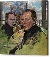 Self Portrait, C.1924 Canvas Print